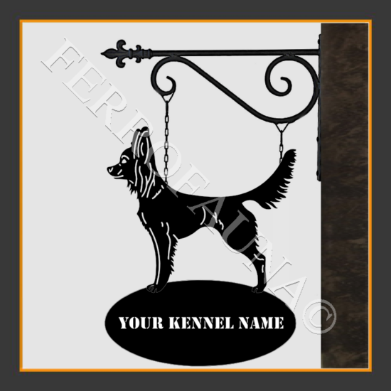 Russian Toy Terrier Long Sign With Kennel Name