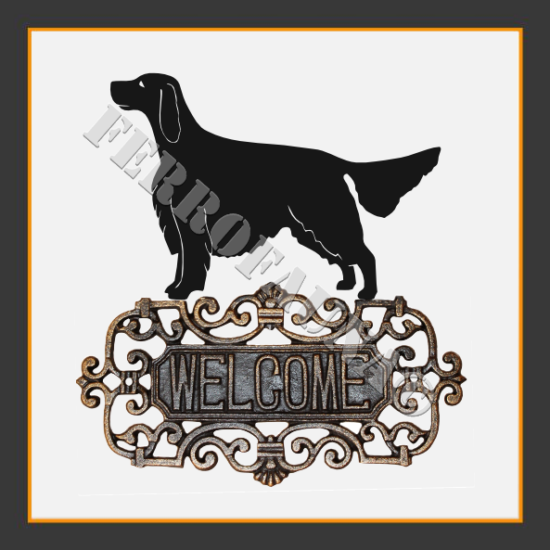 English Setter Welcome Sign