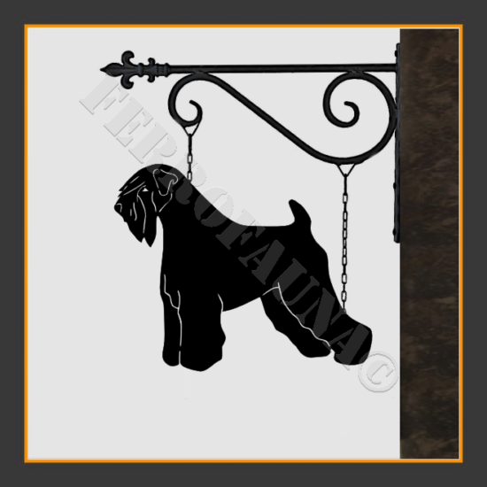 Soft Coated Wheaten Terrier Sign