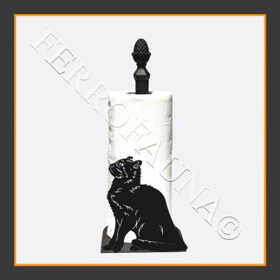 American Curl Towel Holder