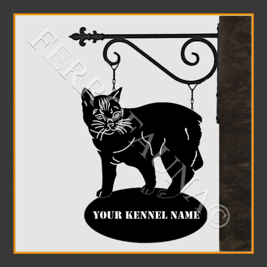 Manx Sign With Kennel Name