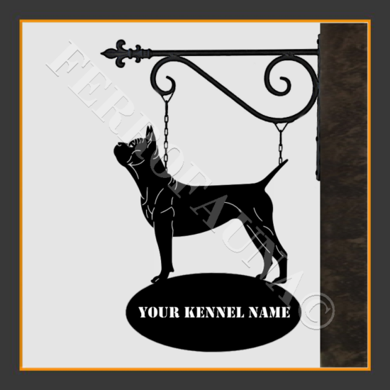 Chinese Chongqing Dog Sign With Kennel Name