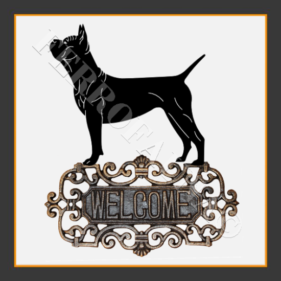 Chinese Chongqing Dog Welcome Sign