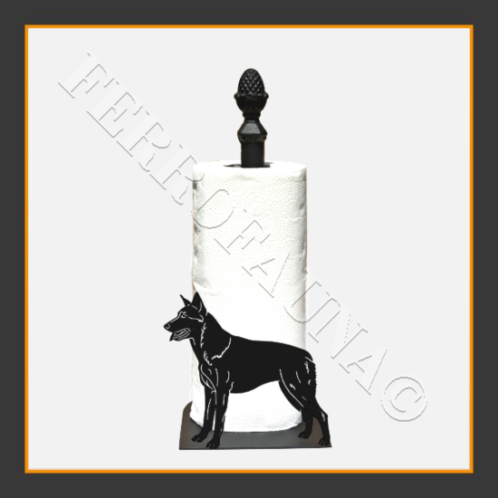 Czechoslovakian Wolfdog  Kitchen Towel Holder