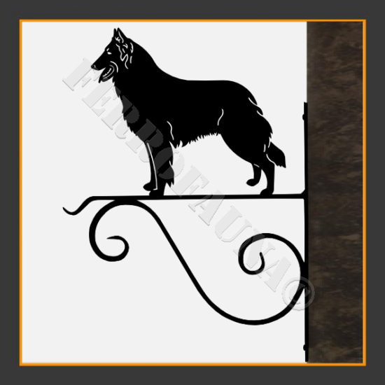 Belgian Shepherd Flower Holder