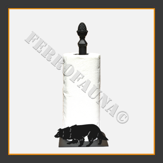 Border Collie V.1 Kitchen Towel Holder