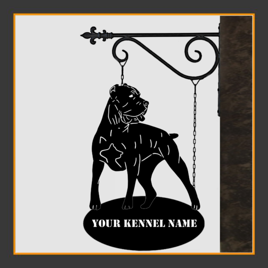 Cane Corso V.2 Sign With Kennel Name