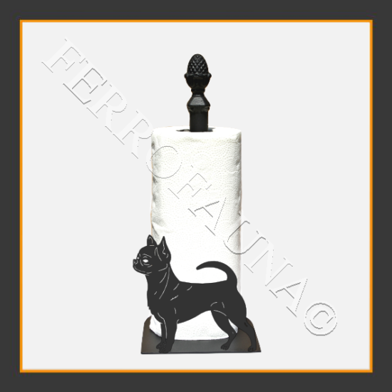 Chihuahua Smooth Kitchen Towel Holder