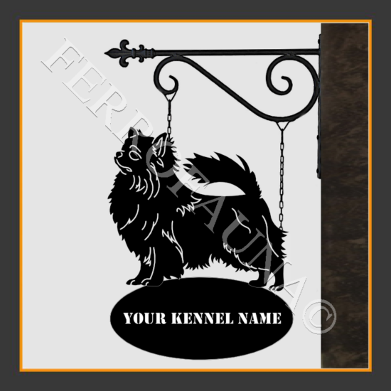 Chihuahua Long Sign With Kennel Name