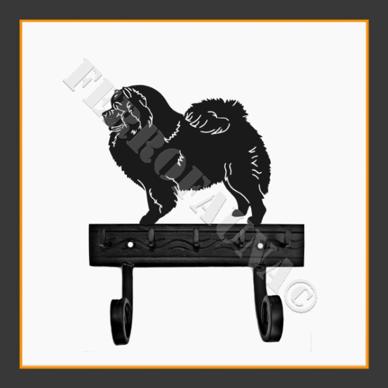 Chow - Chow Key and Leash Holder