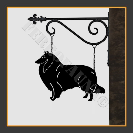 Collie Rough Sign