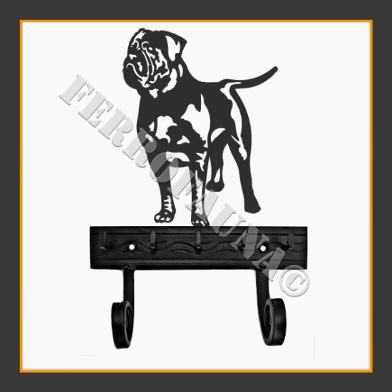 Dogue de Bordeaux Key and Leash Holder