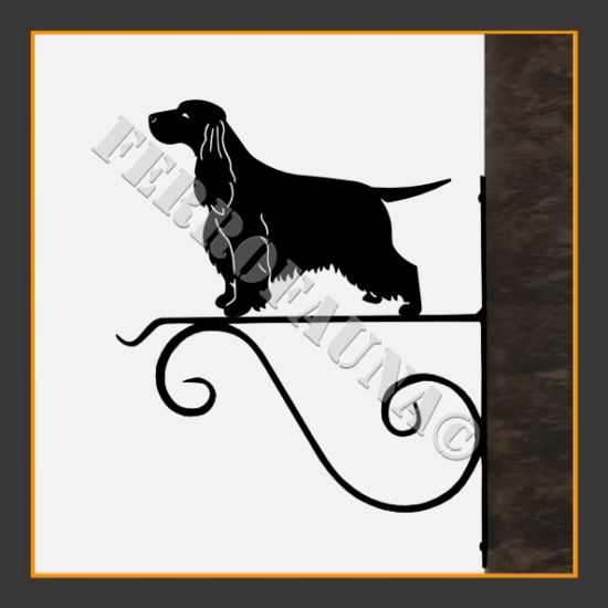 English Cocker Spaniel Flower Holder