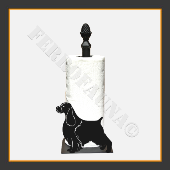English Springer Spaniel Kitchen Towel Holder