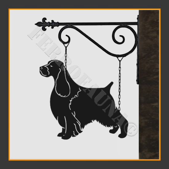 English Springer Spaniel Sign