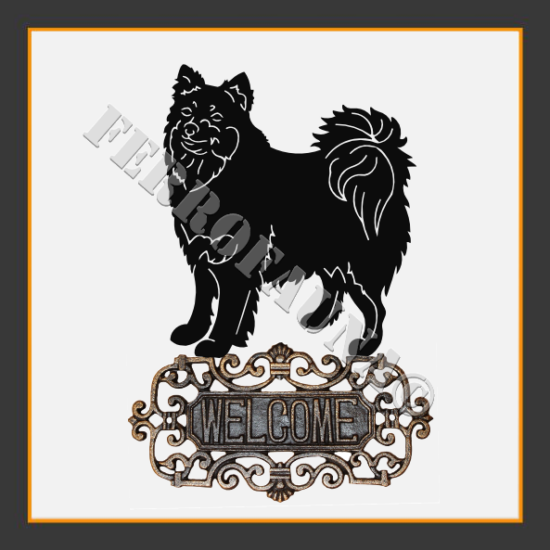 Finnish Lapphund Welcome Sign