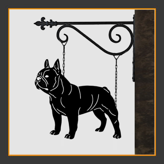 French Bulldog V.2 Sign