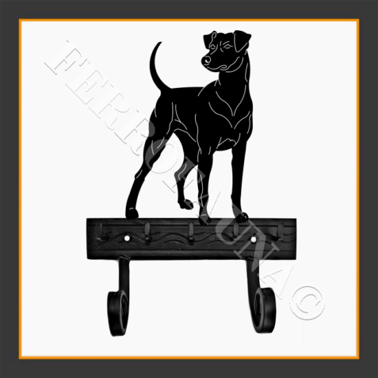 German Pinscher Key and Leash Holder