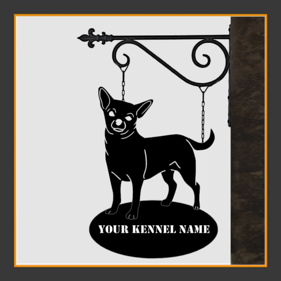 Chihuahua Sign With Kennel Name